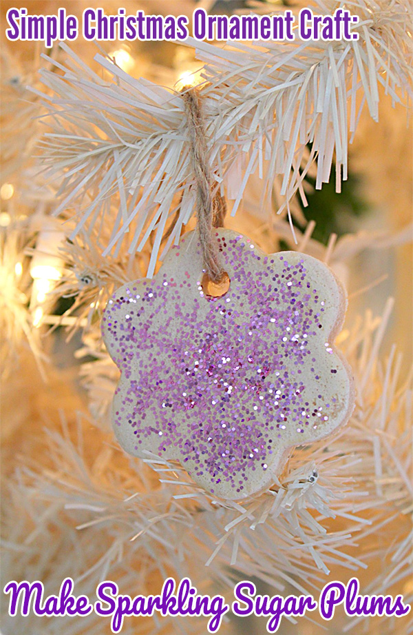 Toddler Christmas Ornament Craft: Sparkling Sugar Plums