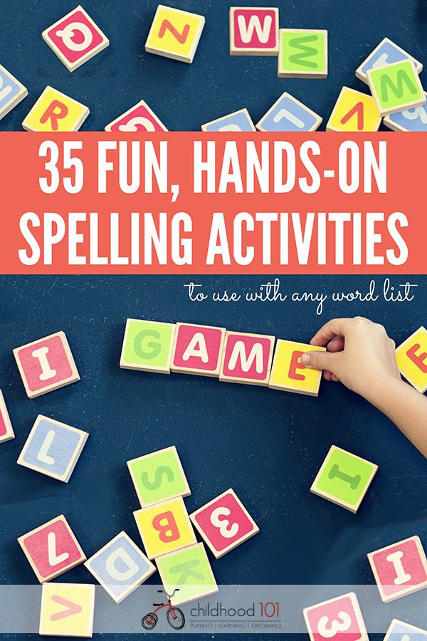 Hands- On Spelling Activities
