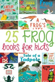 25+ Frog Books for Kids: Picture Books and Informational Texts
