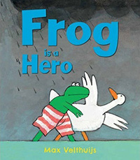 Frog is a Hero: Frog Books for Kids