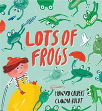 Lots of Frogs: Frog Interest Books for Kids