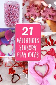 Sensory Play Ideas for Valentines Day