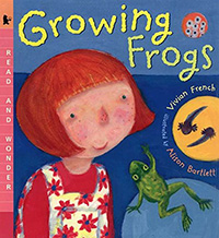 Books about Frogs Lifecycles