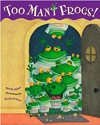 Too Many Frogs: Frog picture books