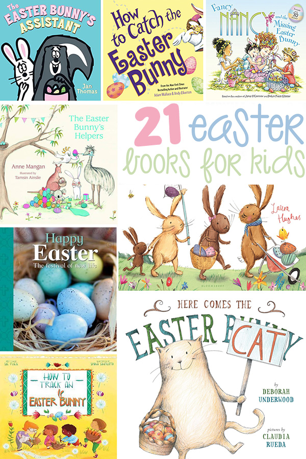21 Easter Books for Kids