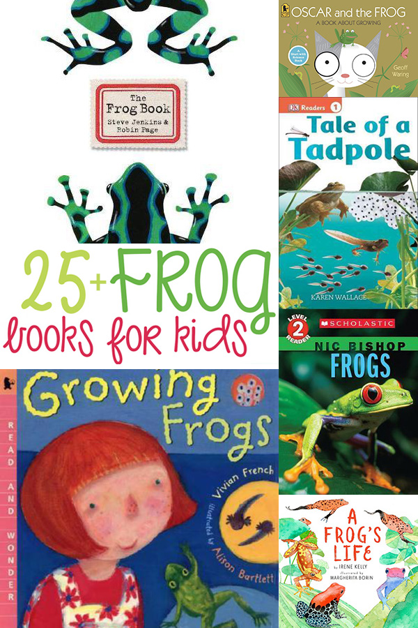 25+ Books About Frogs for Kids Picture Books and Informational Texts