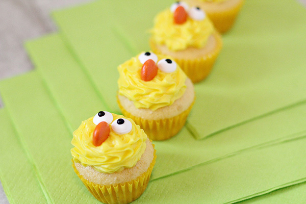 Easy Easter Cupcakes Ideas Cute Chick Cupcakes