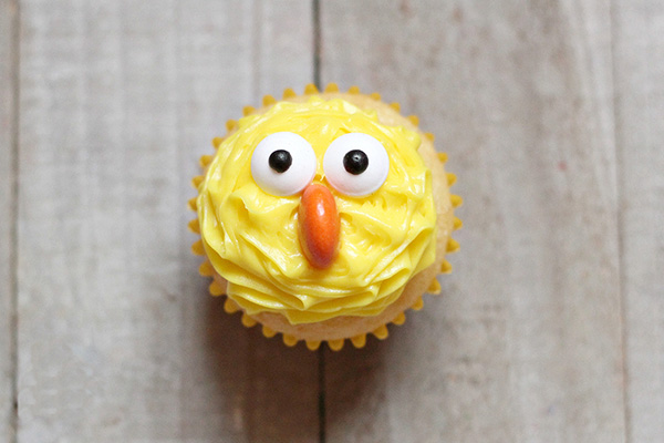 Easy Easter Cupcakes Ideas : Spring Chick Cupcakes