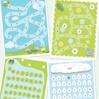 Alphabet mazes learning game
