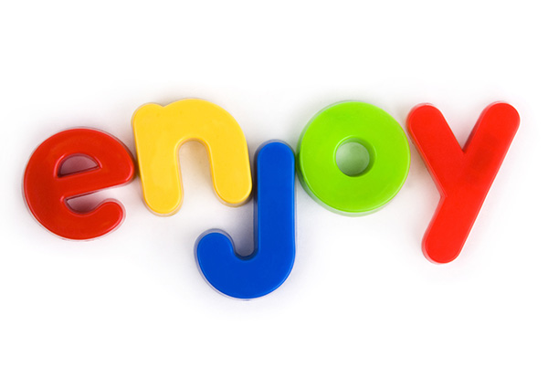 Make spelling words with letter magnets