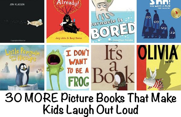 30 Humorous Books for Kids