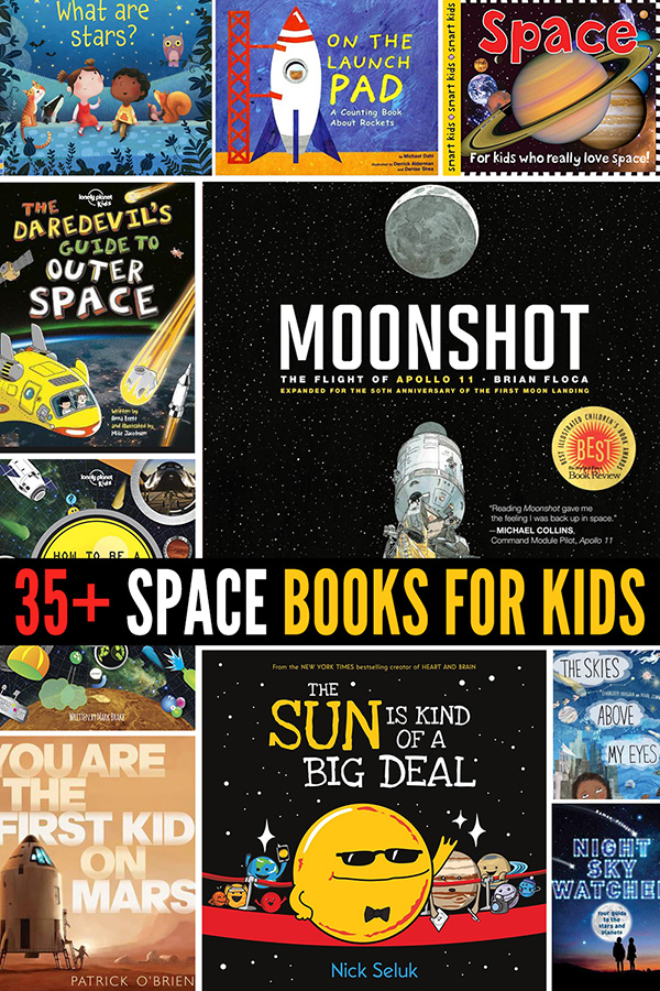 35 Space Books for Kids