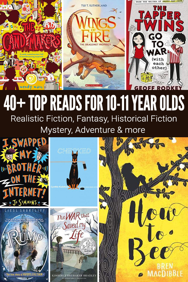 40 Awesome Books for 10-11 Year Olds