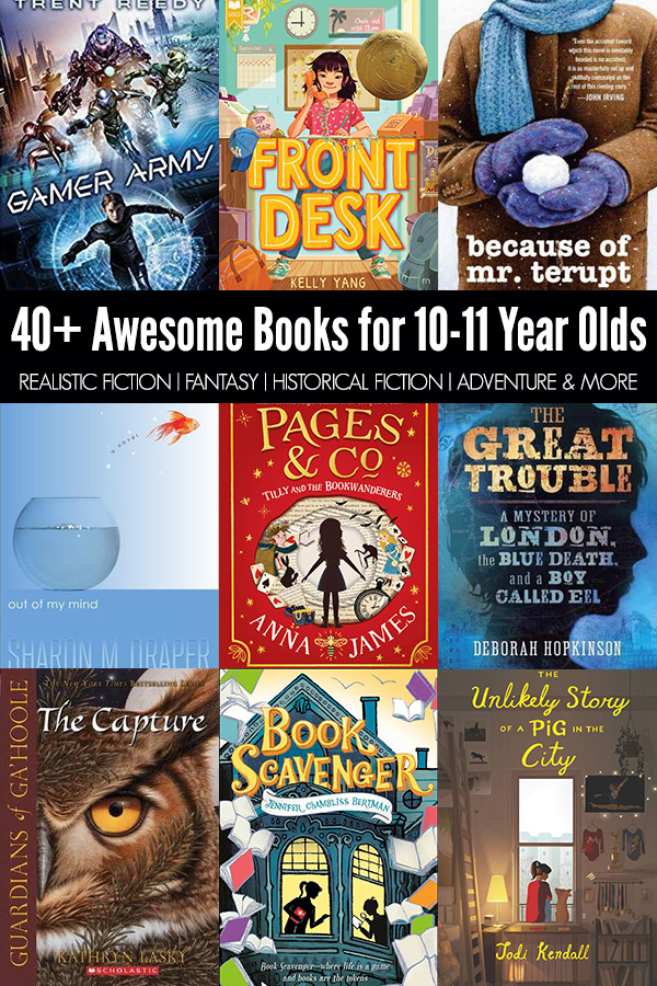 40 Awesome Books for 10 Year Olds