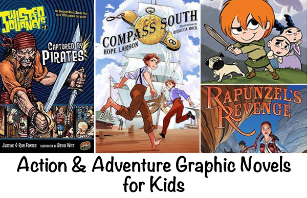 Action Graphic Novels