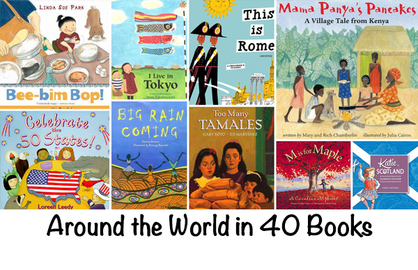 Around the world in 40 books