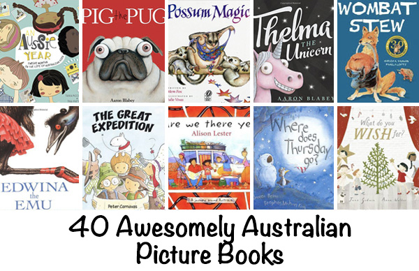 Australian authors picture books