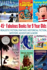 Best Books for 9 Year Olds