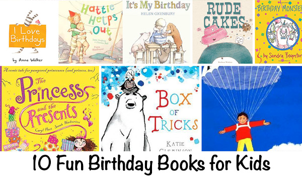 Birthday Books for Kids