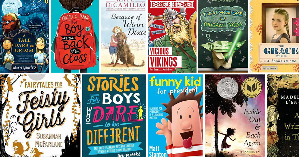 45+ Fabulous Books for 9 Year Olds: Chapter Books for Fourth Graders