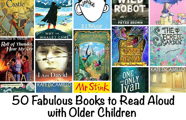 Books to Read Aloud with Older Children