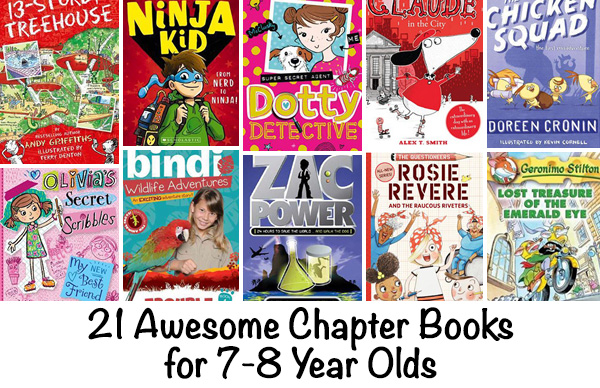 Best Chapter Books For 6 12 Year Olds Mystery Adventure Humor