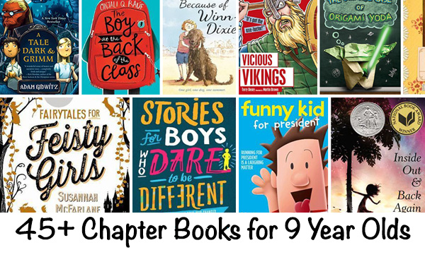 Chapter books for 9 year olds