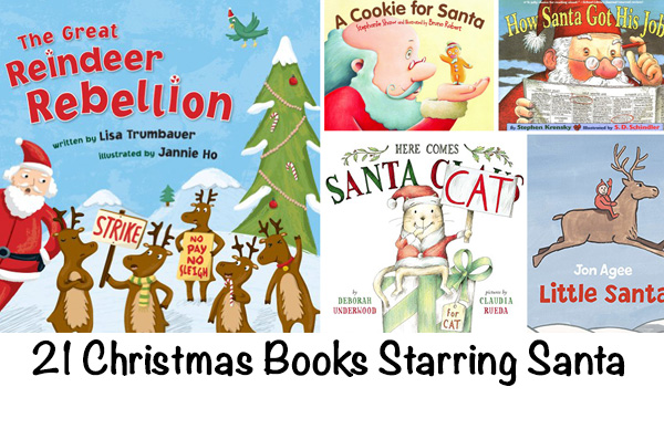 Christmas Books Starring Santa