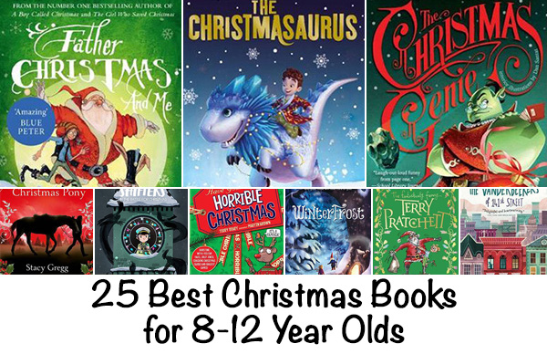 Christmas books 8 to 12 year olds