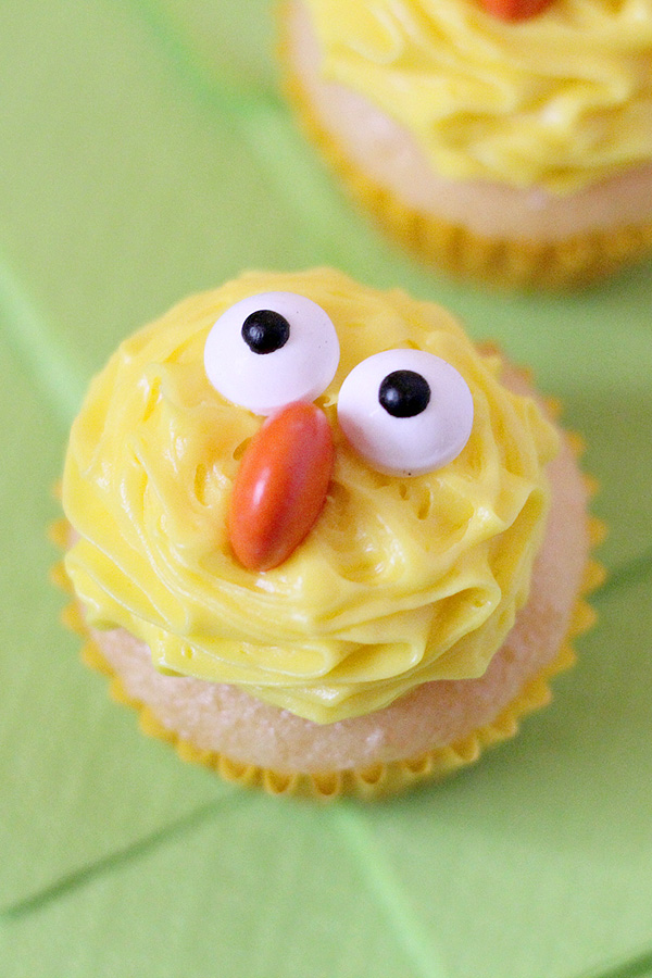 Easter Cupcakes Ideas- Cute Chick Cupcakes