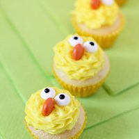 Easy Easter Cupcakes Ideas- Cute Chick Cupcakes