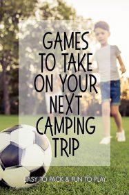 Fun Family Camping Games
