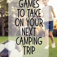 Fun Family Camping Games