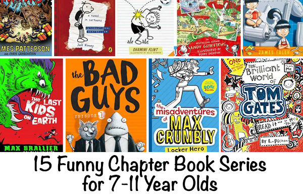 Funny Books for 7-11 year olds
