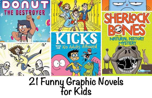 Funny Graphic Novels