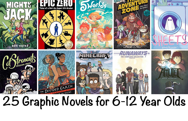 Best Kids Graphic Novels