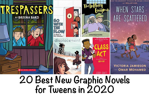 New Graphic Novels for Tweens