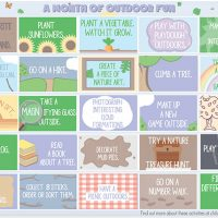 Printable Outdoor Fun Play Planner