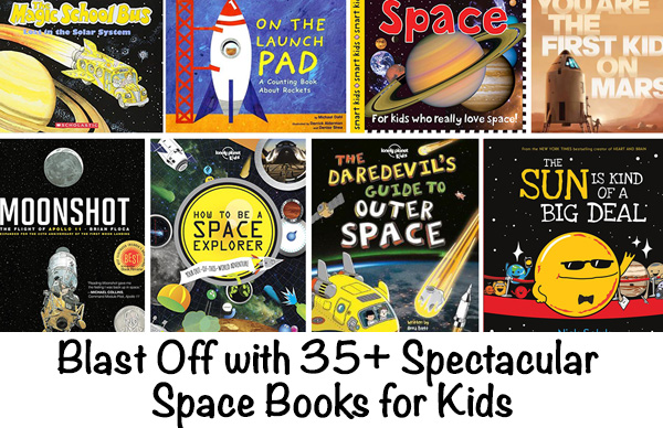 Picture Books about Space for Kids