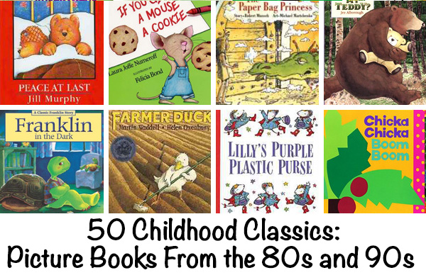 Picture Books from the 80s and 90s