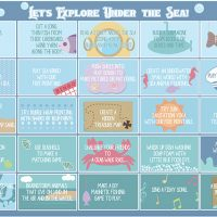 Under the Sea Printable Play Planner