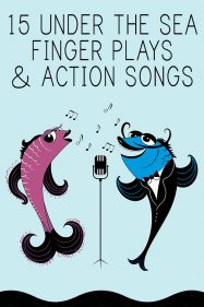 Under the sea action songs and finger plays
