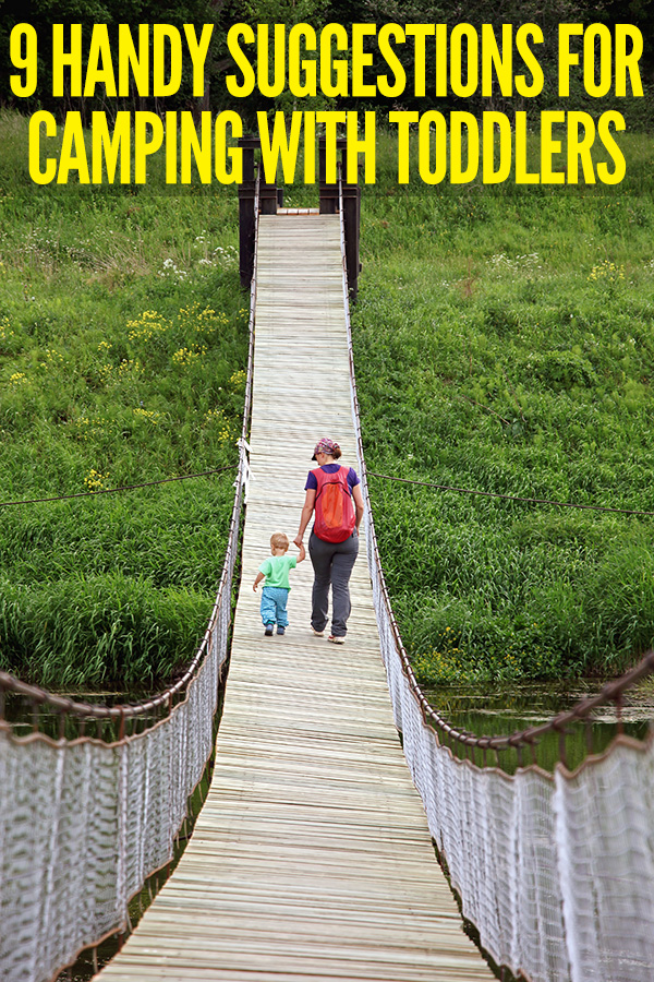 Handy tips for camping with a toddler