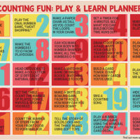 Counting Play and Learning Ideas for Preschool