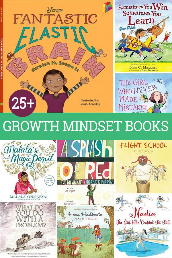 Growth Mindset Picture Books for Kids