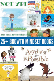 25+ Growth Mindset Picture Books for Kids