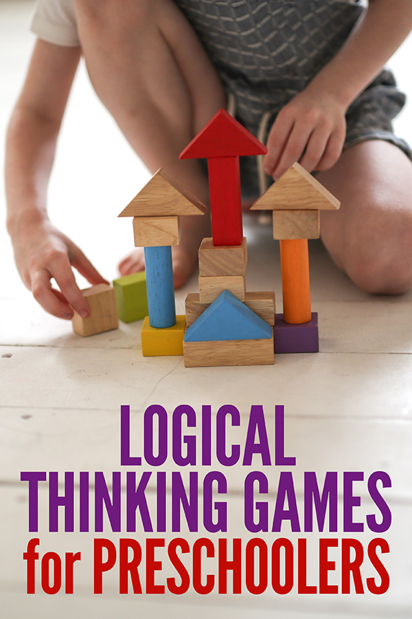 Logical Thinking Games for Preschool and Kindergarten