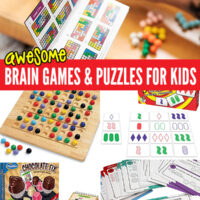 Brain games and puzzles for kids