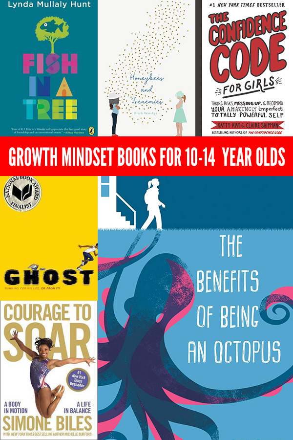 Encourage A Growth Mindset With These Great Books For 10 14