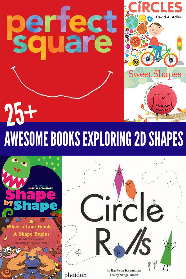 Picture books about 2D shapes